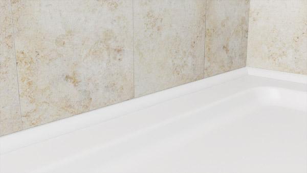 about trimlux benefits of this shower bath sealing trim. Black Bedroom Furniture Sets. Home Design Ideas