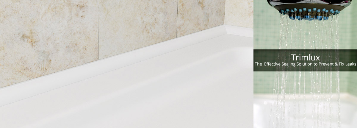 Trimlux Shower and Bath Seals - The Flexible, Hygienic Shower and ...